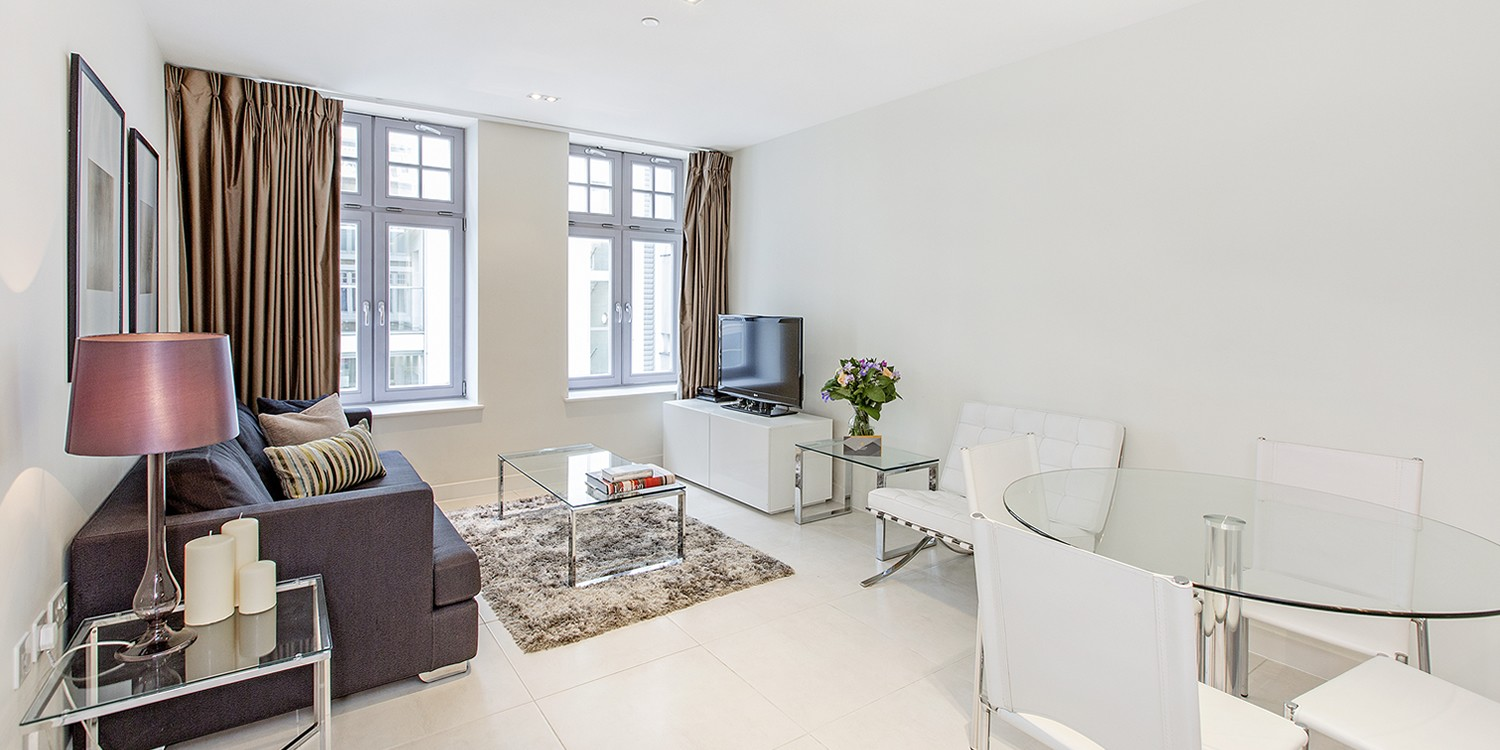 Ecity Living Room Portland Brown Serviced Apartments